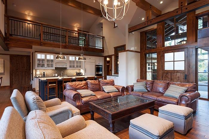 Martis Camp - Lot 257 - Living Room - Kitchen